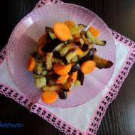 Insalata di melanzane - sałatka z bakłażanów