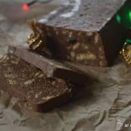 minimum pracy, maksimum smaku, najlepsze ciastko bez pieczenia  blok czekoladowy