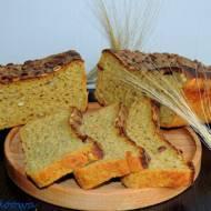 Chleb żytni z dynią na zakwasie żytnim