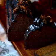 Oszukany piernik toruński przełożony masą z orzechów włoskich i laskowych