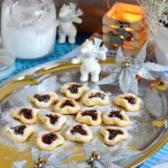 Ziemniaczane ciasteczka z powidłami śliwkowymi