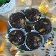 Czekoladowe muffinki z mandarynkami
