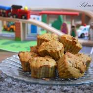 Imbirowe babeczki z jabłkiem - bez glutenu i cukru