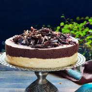 Sernik z czekoladą -niebo w gębie!