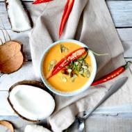 Zupa krem z batata i marchewki na mleku kokosowym z chili