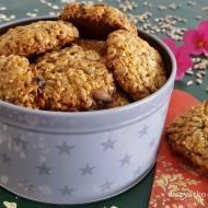 Ciasteczka owsiane z ziarnami