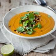 Zupa z dyni, marchewki i soczewicy