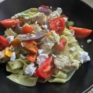 Półgodzinny kurczak z makaronem i warzywami