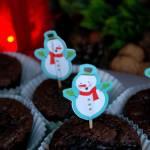 Muffiny korzenne z powidłami