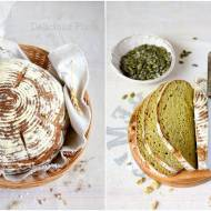Chleb pszenno-dyniowy na zakwasie / Wheat and pumpkin bread with sourdough