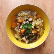 Zupa pieczarkowa (bez zabielania)