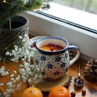 Herbata malinowa z pomarańczą i żurawiną
