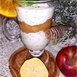 Cynamonowy deser z chia + przepis na prażone jabłka z cynamonem