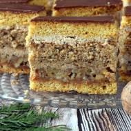 Ciasto orzechowo-miodowe s.Anastazji