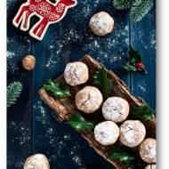 Dolcetti Alle Nocciole – świąteczne ciasteczka orzechowe z mąką kasztanową