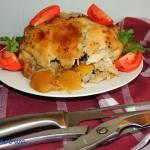 Kurczak pieczony z kiszonymi cytrynami