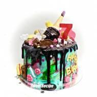 Dla wyjątkowej dziewczynki- zwariowany tort urodzinowy