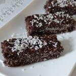 Mocno kakaowe kokosanki (bez pieczenia, bez glutenu)