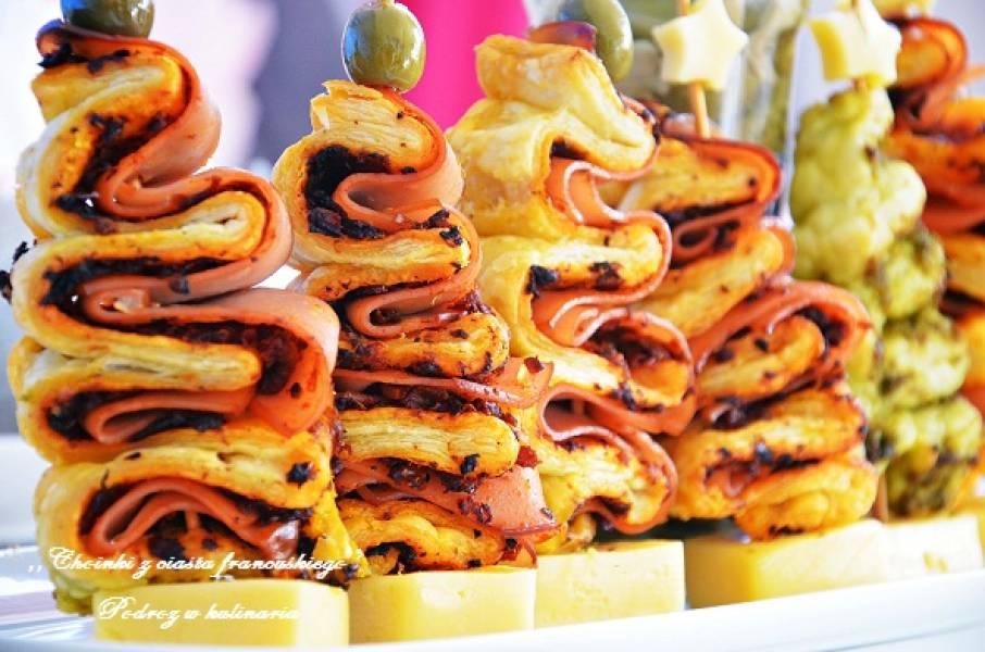 Przepis Na Choinki Z Ciasta Francuskiego Podróż W Kulinaria