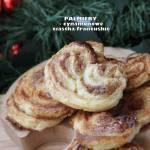 Palmiery - cynamonowe ciastka francuskie