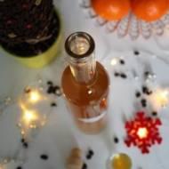 Nalewka pomarańczowa zkawą