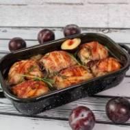 Rolady wieprzowe z mięsem mielonym oraz śliwką