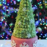 Słodka świąteczna choinka