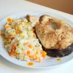 Lekki, zdrowy obiad - ryż z warzywami i rybą - gotuj z MULTICOOKER :)