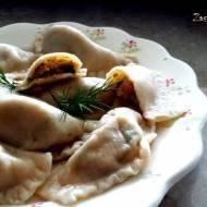 Pierogi rybne z serem i marchewką