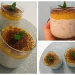 Kokosowy pudding z tapioki i chia z mango