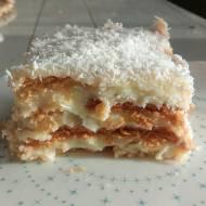 Raffaello – ciasto bez pieczenia