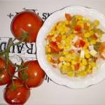 Ekspresowa surówka obiadowa (z kukurydzą, ogórkiem)