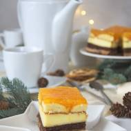 Piernikowe ciasto z mandarynkami