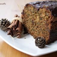Cynamonowe ciasto ze szpinakiem