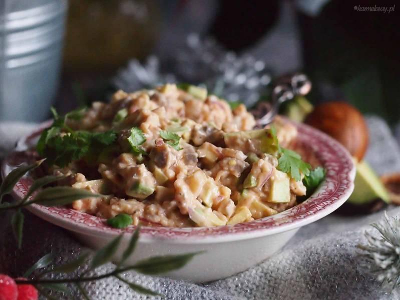 Sałatka śledziowa z awokado / Avocado herring salad