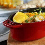 Ryba w pomarańczach z warzywami