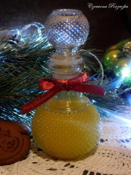 Nalewka świąteczna z pomarańczy