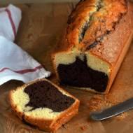 Błyskawiczne ciasto dwukolorowe