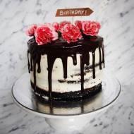 Tort na 24 urodziny :)