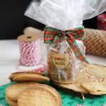 DIY jadalne prezenty świąteczne