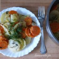 Pieczone warzywa – jednogarnkowe danie