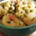Sałatka z krewetkami i majonezem
