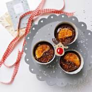 Babeczki czekoladowe z mandarynką