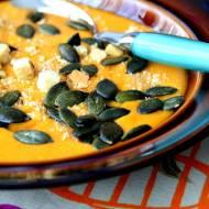 Zupa krem z dyni z pomarańczą i batatem