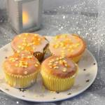 Muffinki obłędnie pomarańczowe z białą czekoladą