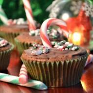 Piernikowe muffinki w czekoladzie
