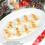 ekspresowe ciasteczka francuskie choineczki oprószone cukrem z cynamonem
