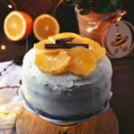 Świąteczny torcik makowy z pomarańczami i mascarpone