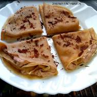 Kawowe naleśniki z kremem mascarpone