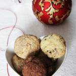 Kruche ciasteczka a'la pieguski w 3 wersjach